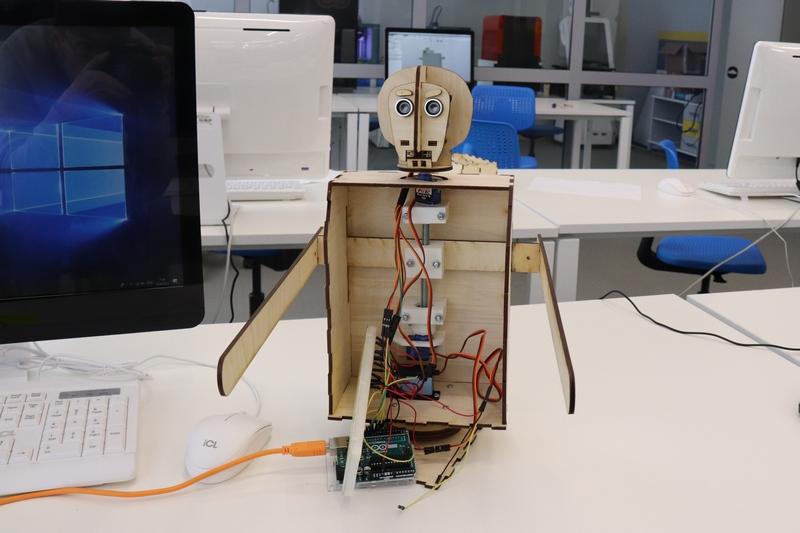 Создание корпуса робота-официанта