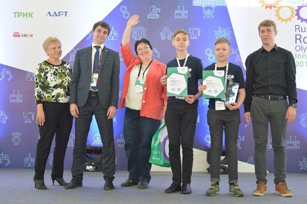 Команды Челябинской области завоевали на Всероссийской олимпиаде роботов семь медалей