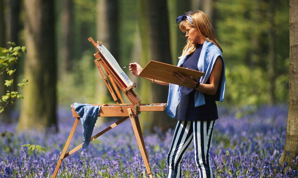 Лето - время пленэров для художников