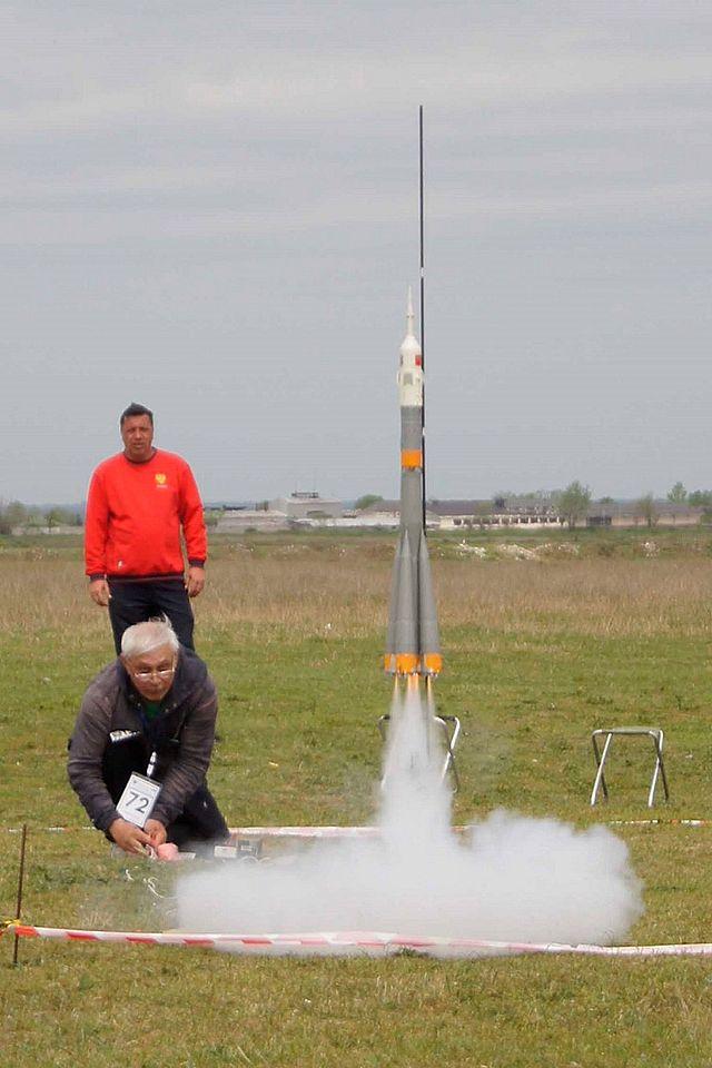 соревнования по ракетомоделированию