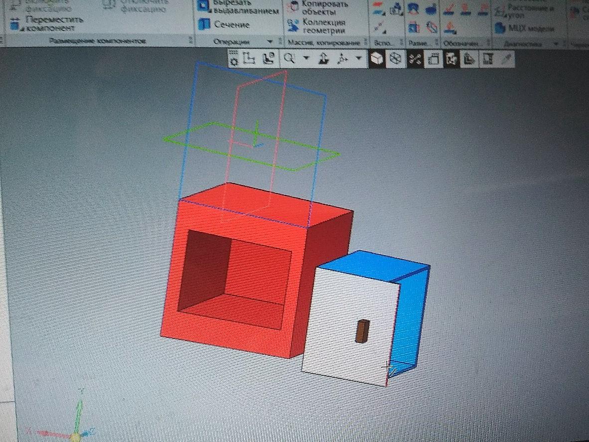 3D-моделирование. Ребята создали модель часов, карусель и разные варианты качелей