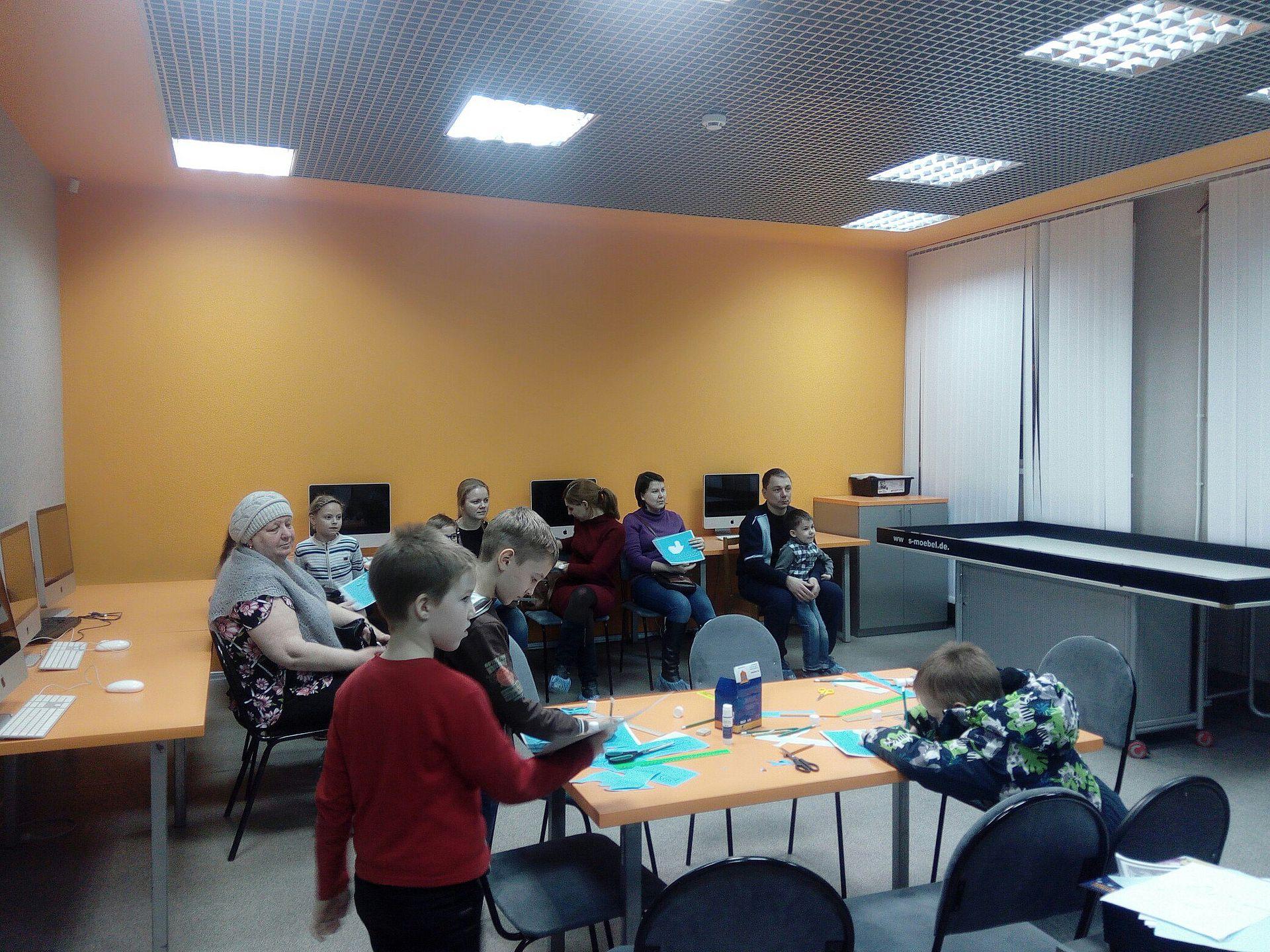 В ДЮТТ состоялся первый мастер-класс для детей и родителей